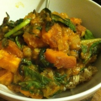 Sweet Potato & Red Lentil Curry